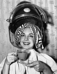 sisyin hairrollers these vintage hair dryer photos make it seem cool under the hood