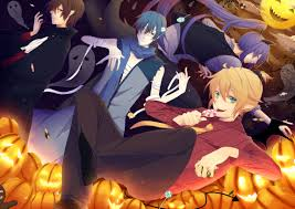 halloween background anime jack o u0027lantern halloween zerochan anime image board