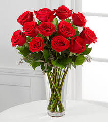 Long Stem Flowers The Long Stem Red Rose Bouquet By Ftd Vase Included In