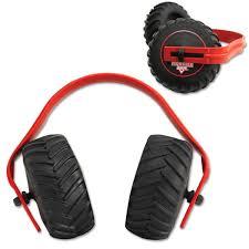 monster jam tire ear muffs