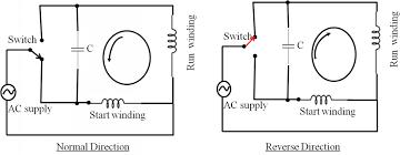 wiring diagram reversible single phase motor wiring diagram