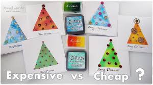 cheap christmas cards cheap vs expensive products for christmas cards maremi s small