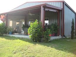 pre engineered super strong steel building in texas pictures