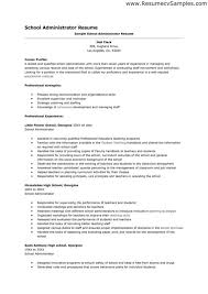 Examples Of Teachers Resume by Public Health Administrator Sample Resume Resume Examples For