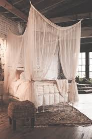 Mosquito Net Bed Canopy Mosquito Netting Four Poster Bed Canopy That Bohemian