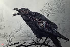 halloween raven background free raven wallpapers for desktop wallpapersafari