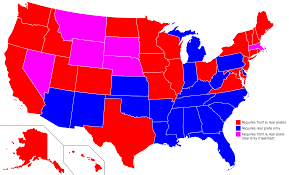 cheapest us states to live in vehicle registration plates of the united states wikipedia