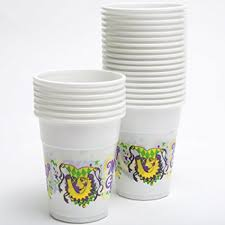 mardi gras cups express mardi gras disposable cups 50 toys