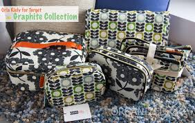 target cosmetics black friday show u0026 tell orla kiely for target cosmetic bag collection