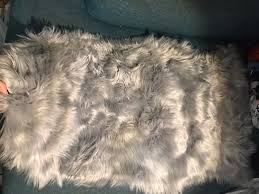 high quality faux lambskin rug mercari buy u0026 sell things you love