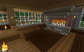 minecraft fireplace at the great home in the walled in secret