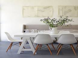 White Dining Room Table With Bench And Chairs - white dining room table and chair sets dweef com bright and