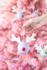 diy rudolph ornaments studio diy