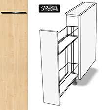 meuble cuisine 20 cm largeur cuisine armoire meuble armoire à pharmacie 17 cm fe 69 avant