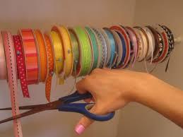 craft ribbon a cool way to organize ribbon
