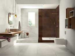 Wood Floors In Bathroom by Italian Tiles That Look Like Assembled Parquet Panels Mansion
