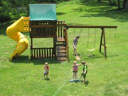 Cute Backyard Ideas by Fun Backyard Ideas Swing Set And Sprinkler Cute And Funny Kid