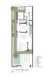Futuristic House Floor Plans by Gallery Of Far Sight House Wallflower Architecture Design 18