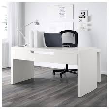 Ikea Pull Out Drawers Malm Desk With Pull Out Panel White 151x65 Cm Ikea