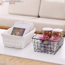 panier cuisine livraison gratuite fer collection panier salle de bains boîte de