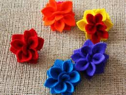 felt flowers learn how to make felt flowers with easy tutorials feltmagnet