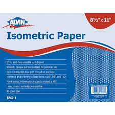 grid layout for 8 5 x 11 alvin isometric paper pad 8 5 x 11 no 1242 1 engineersupply