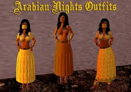 second life marketplace arabian nights 3