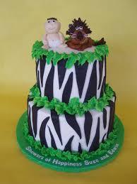 jungle safari baby shower cake a twist on the jungle anima u2026 flickr