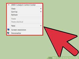 Small Desktop Calculator For Windows 8 5 Ways To Make Desktop Icons Smaller Wikihow