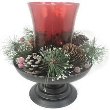 better homes and gardens christmas decorations better homes and gardens 3 piece hurricane candle holder walmart com