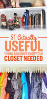 Bedroom Storage Hacks by Best 25 Small Closet Organization Ideas On Pinterest Small