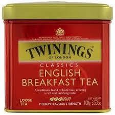 twinings leaf breakfast tea 3 5oz tin peters