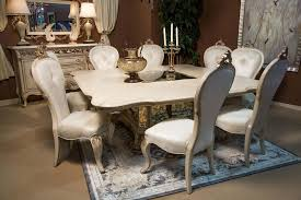 Champagne Dining Room Furniture 11 Piece Platine De Royale Square Dining Set In Champagne U2022 Usa