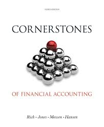 cornerstones of financial accounting 3rd edition cengage