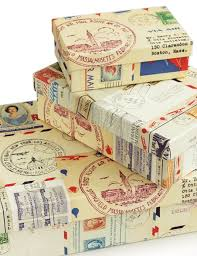 postal wrapping paper 40 best air mail images on going postal snail