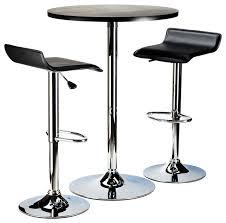 Round Pub Table Set Winsome Spectrum 3 Piece 24