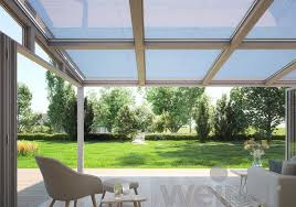 Silver Top Awnings Wgm Top U2013 Weinor U0027s Over Roof Conservatory Awnings