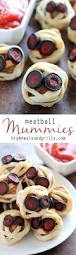 meatball mummies recipe halloween finger foods finger foods