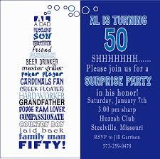 Birthday Invitation Words 50th Birthday Invitations Wording Decorating Of Party