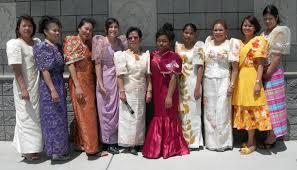 kimona dress customary dress styleofthephilippines