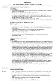 sle resume cost accounting managerial approaches to implementing implementation consultant resume sles velvet jobs