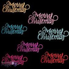 merry christmas sign new 3 pack glitter merry christmas sign decorations hangers