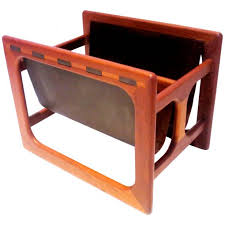 What Is A Decoration Decoration Inspired Leather Magazine Racks For Home Natural