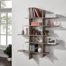 Industrial Looking Bookshelves by Rustic Bookshelves U0026 Bookcases Shop The Best Deals For Oct 2017