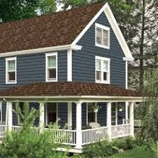 image result for best house color to go with dark brown roof for