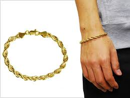 man golden bracelet images Solt and pepper rakuten global market no brand rope chain jpg