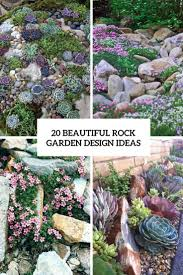 Modern Rock Garden by Ideas For Rock Gardens 25 Best Ideas About Rock Garden Design On
