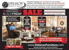 our black friday inventory clearance sale starts today delano s