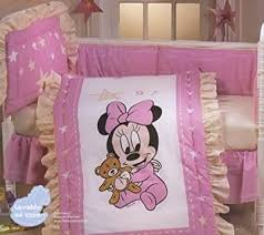 Mickey And Minnie Crib Bedding Disney Baby Minnie Complete Crib Bedding Set Minnie