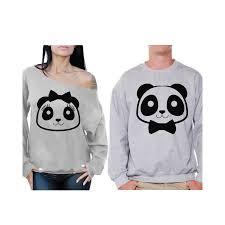 panda sweater awkward styles panda sweatshirts for panda couples sweaters
